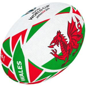 Ballon Rugby Gilbert Coupe du Monde 2019 Pays de Galles