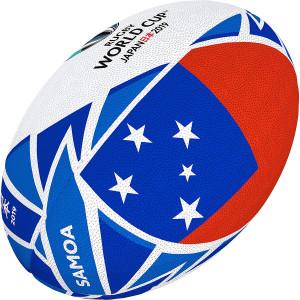 Ballon Rugby Gilbert Coupe du Monde 2019 Iles Samoa