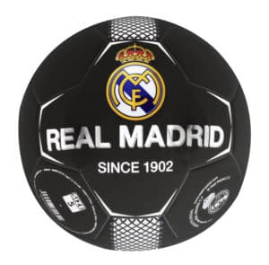 Ballon de Foot Noir Real de Madrid