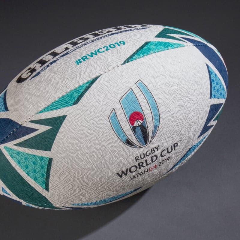 visuel ballon Coupe du Monde de Rugby