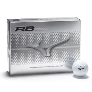 Boîte de 12 Balles de Golf Mizuno RB Tour Blanche