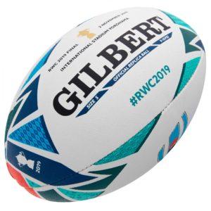 Ballon Gilbert de la Finale de la Coupe du Monde de Rugby 2019