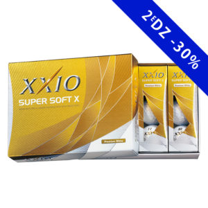Boîte de 12 Balles de Golf Xxio Super Soft X