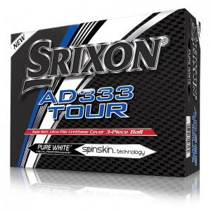 Boîte de 12 Balles de Golf Srixon AD333 Tour Blanche
