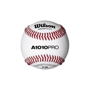 Balle de Baseball Wilson A1010 PRO FLAT SEAM