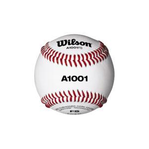 Balle de Baseball Wilson A1001 GAME FLAT SEAM