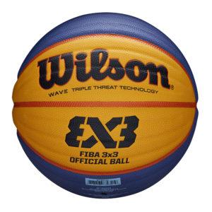 Ballon de Basket Wilson FIBA 3X3 OFFICIAL FFBB