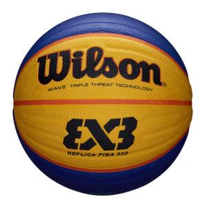 Ballon de Basket Wilson FIBA 3X3 REPLICA FFBB