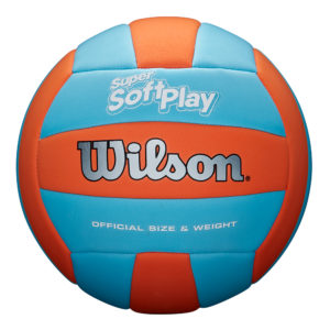 Ballon de Volley Wilson SUPER SOFT PLAY orblu
