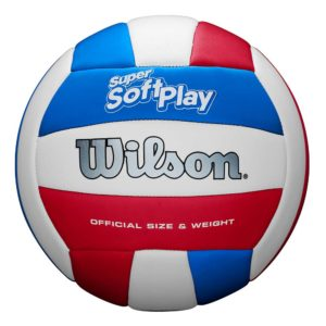 Ballon de Volley Wilson SUPER SOFT PLAY Whrdblue