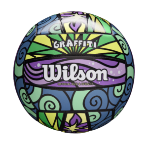 Ballon de Volley Wilson GRAFFITI ORIG prblugrye