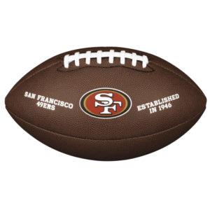 Ballon de Football Américain Wilson des 49ers