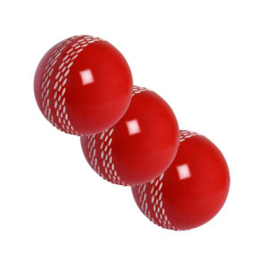 Lot de 3 balles de Cricket rouges Gray-Nicolls Velocity