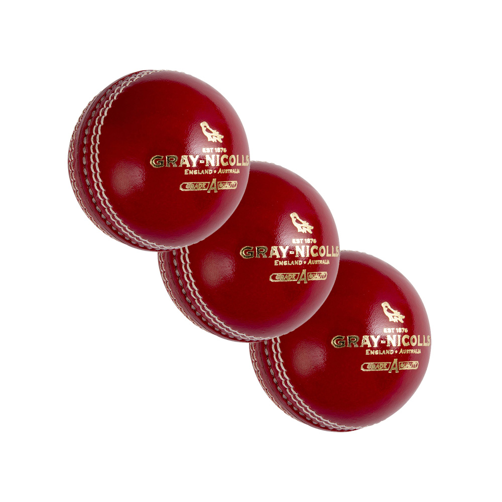 Lot de 3 balles de Cricket Grays-Nicolls
