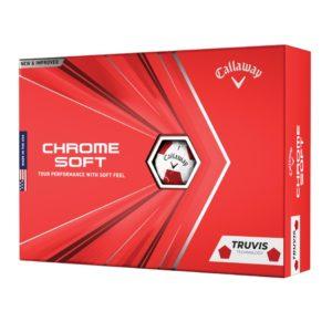 Boite de 12 Balles de Golf Callaway Chrome Soft Truvis