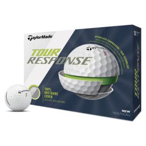 Boite de 12 Balles de Golf TaylorMade Tour Response Blanches