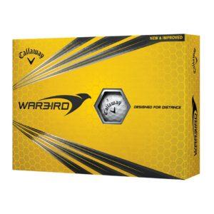 Boite de 12 Balles de Golf Callaway Warbird Blanches