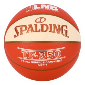 Ballon de Basket Spalding LNB TF350 Indoor / Outdoor
