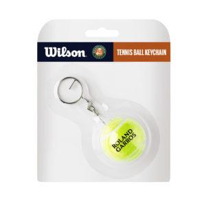 Porte-clés balle de tennis Wilson Roland Garros