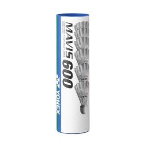 Tube de 6 volants de Badminton Mavis 600