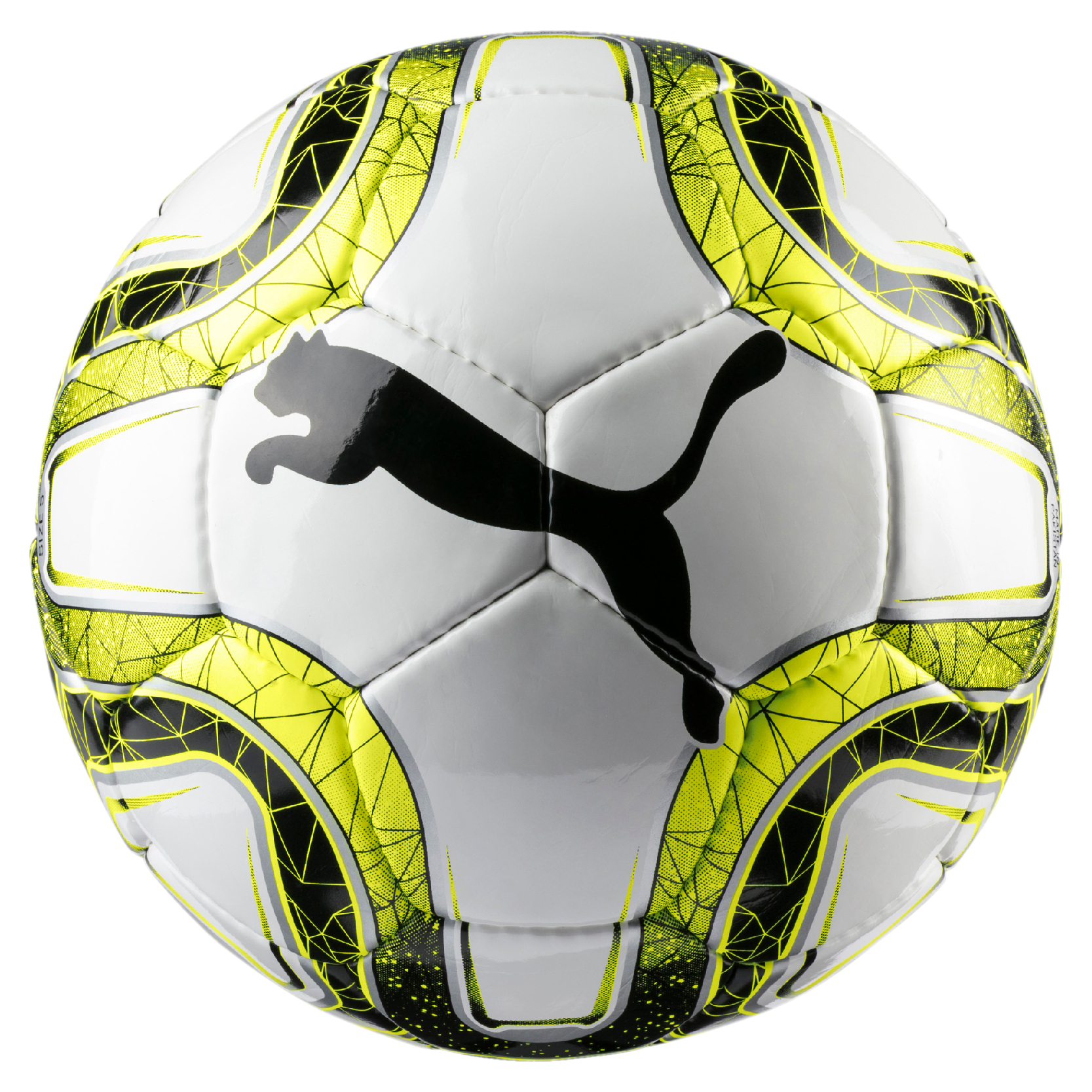 Ballon de Foot Puma Final 5 HS Trainer jaune