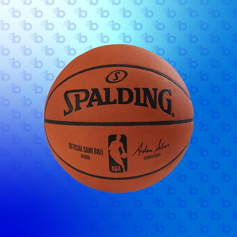 Balles de Sport - Square - Ballon Officiel NBA Spalding