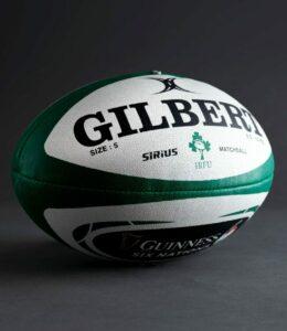 Ballon Officiel de match Sirius GILBERT équipe d'Irlande