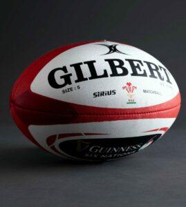 Ballon Officiel de match Sirius GILBERT équipe du Pays de Galles