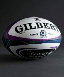 Ballon Officiel de match Sirius GILBERT équipe d'Ecosse
