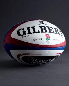 Ballon Officiel de match Sirius GILBERT équipe d'Angleterre