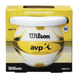 Kit de plage Ballon de Volley et Frisbee Wilson AVP