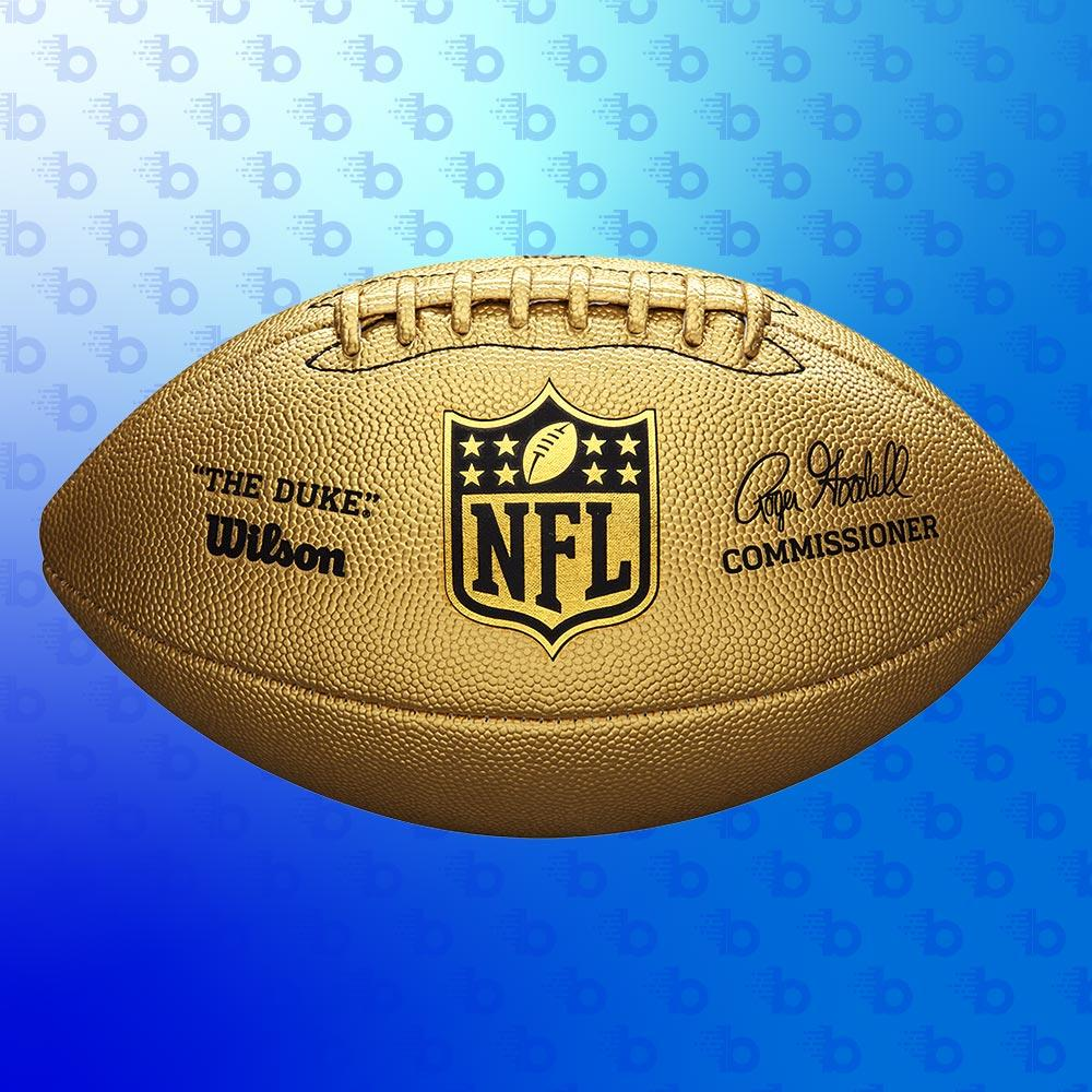 Ballon Wilson Foot US Gold