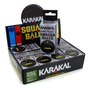 Balles de Squash Karakal Point Jaune
