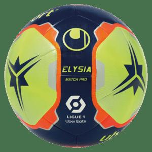Ballon ELYSIA Match Pro de la ligue 1 Uber Eats 2021/2022 Matchs Aller