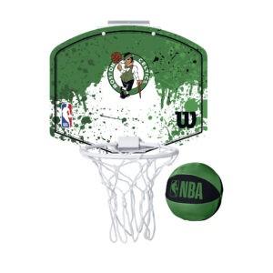Mini panier de Basket Wilson NBA des Boston CELTICS