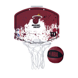 Mini panier de Basket Wilson NBA des Miami HEAT