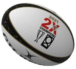 Ballon Rugby Gilbert Stade Toulousain Doublé 2021 Champion d'Europe-Top14